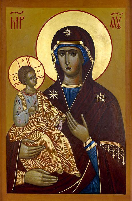 Икона Богородицы-троеручицы